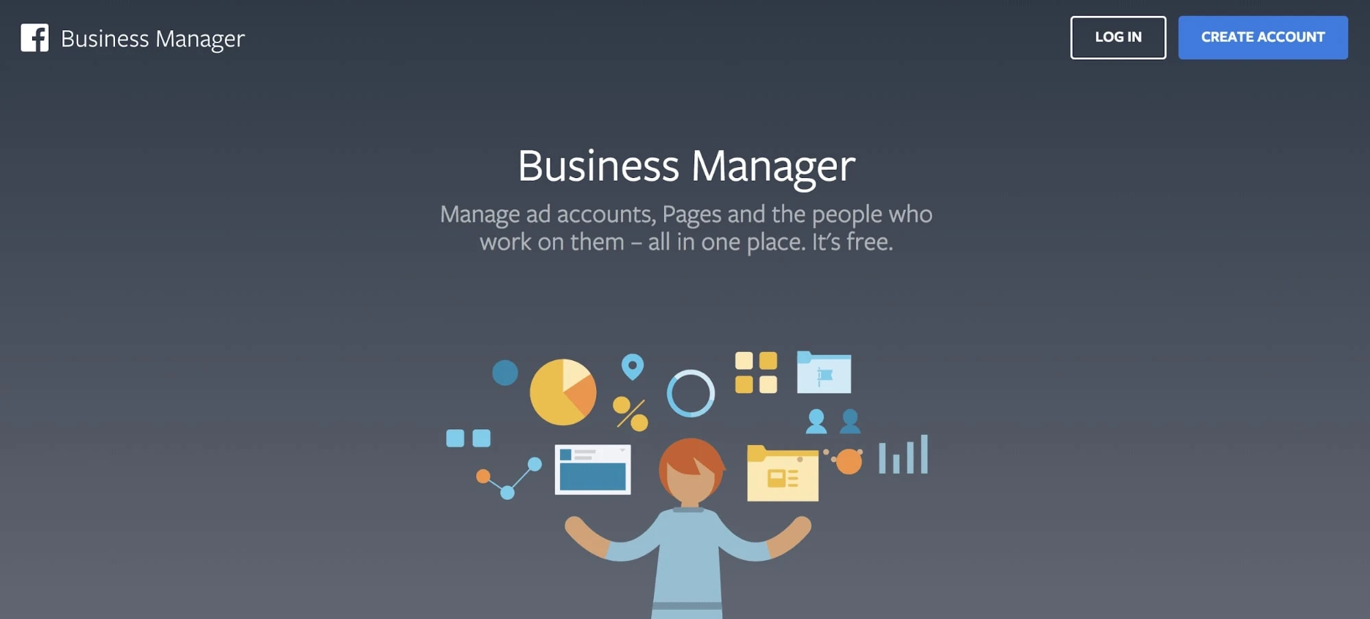 Business Manager account