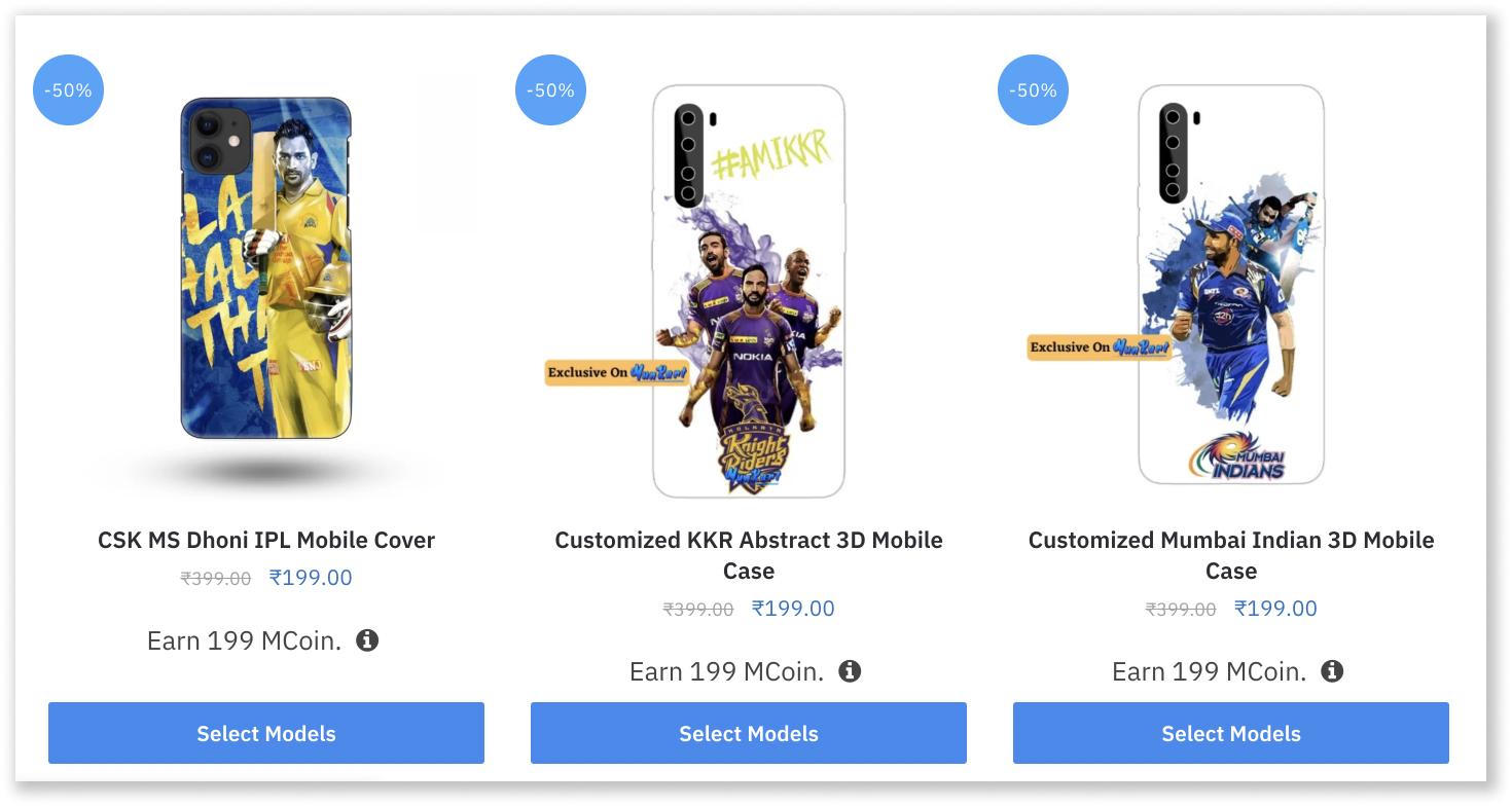 IPL Phone covers