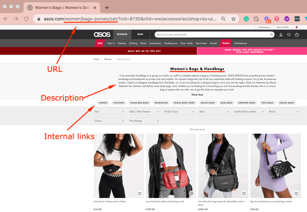 Optimize product page