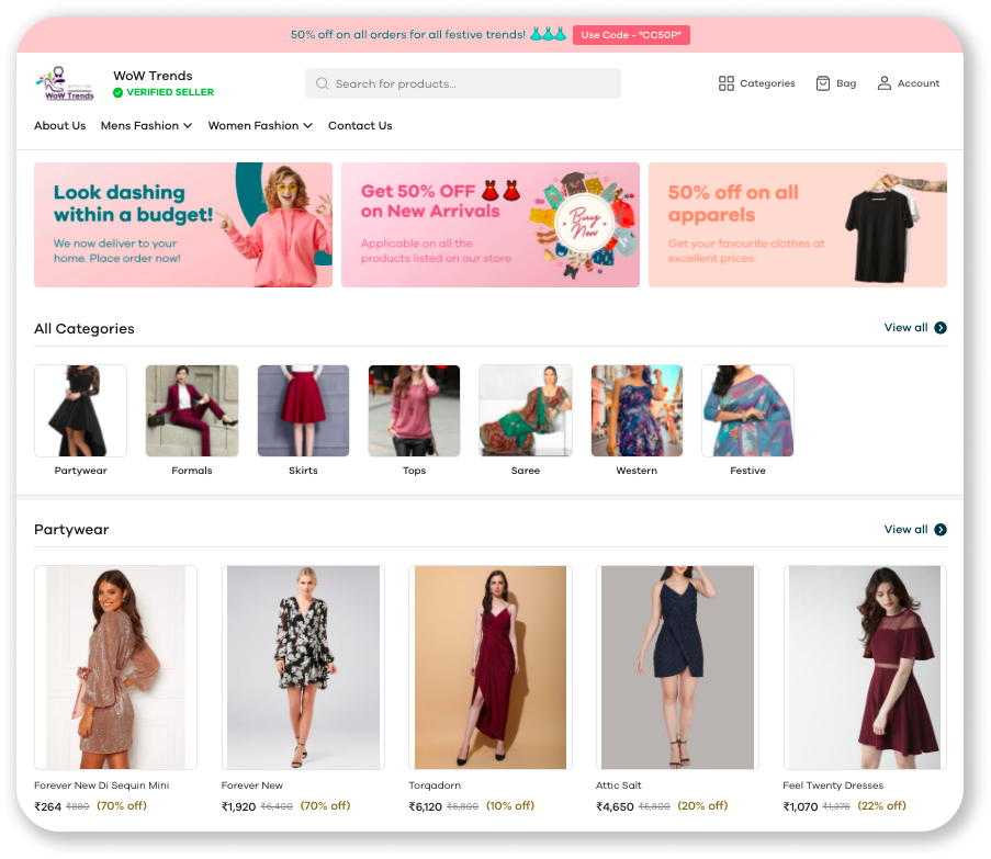 How to Start an Online Boutique in 5 Steps Screenshot 2021 07 13 at 7.37 1