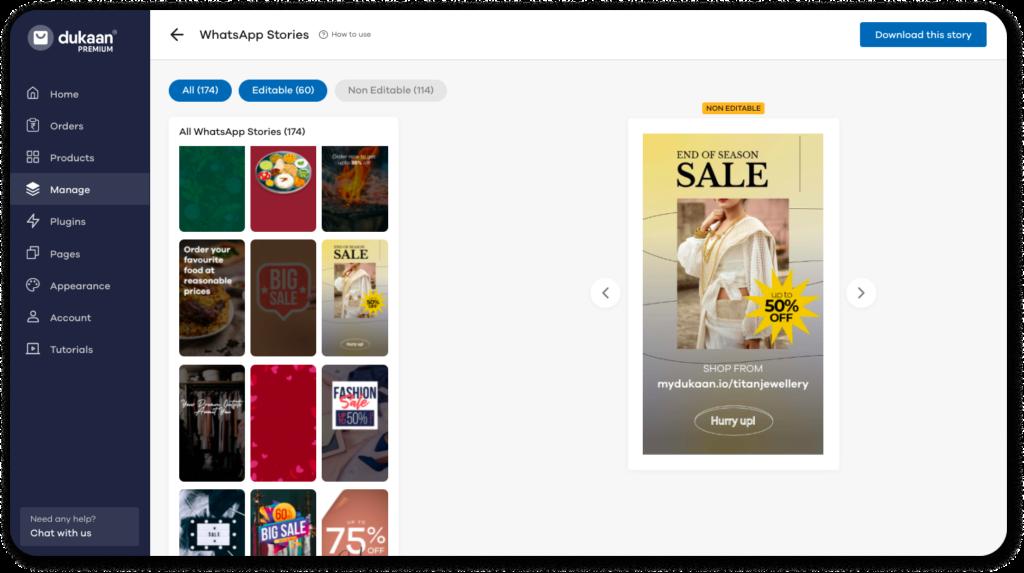 How to Start Online Saree Business - Sell Sarees Online Screenshot 2021 07 16 at 1.14 1