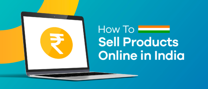 how to sell products online in India