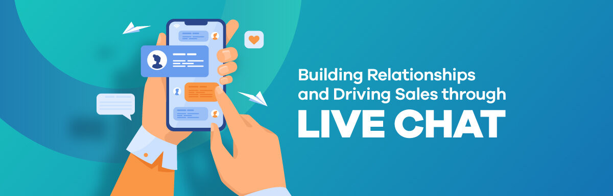 live chat for sales