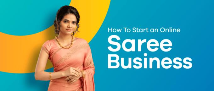 online saree business